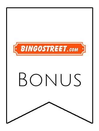 Latest bonus spins from Bingo Street