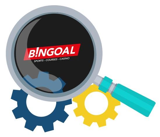 Bingoal Casino - Software