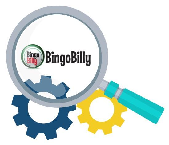 BingoBilly Casino - Software