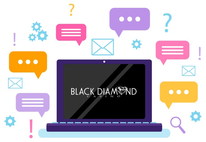 Black Diamond Casino - Support
