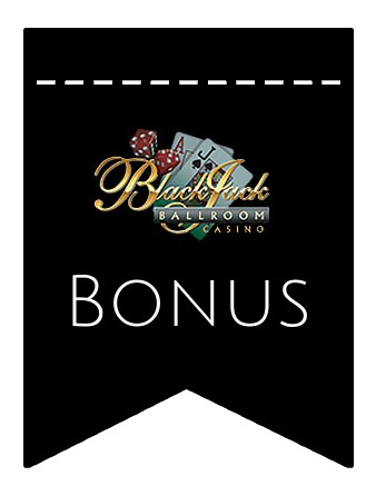 Latest bonus spins from Blackjack Ballroom