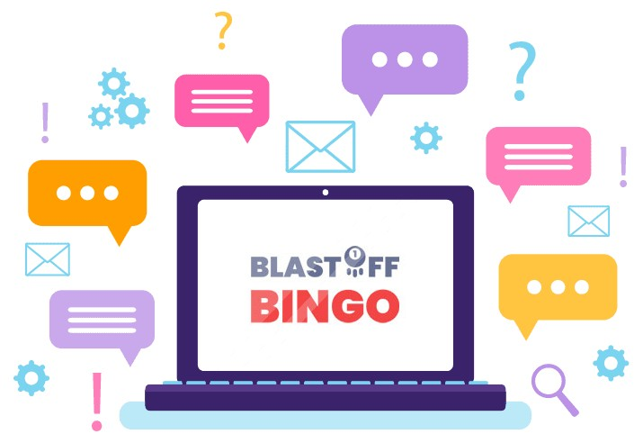 Blastoff Bingo - Support