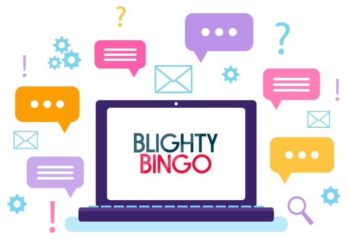 Blighty Bingo Casino - Support