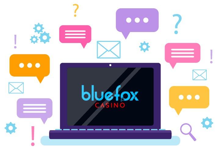 Bluefox Casino - Support