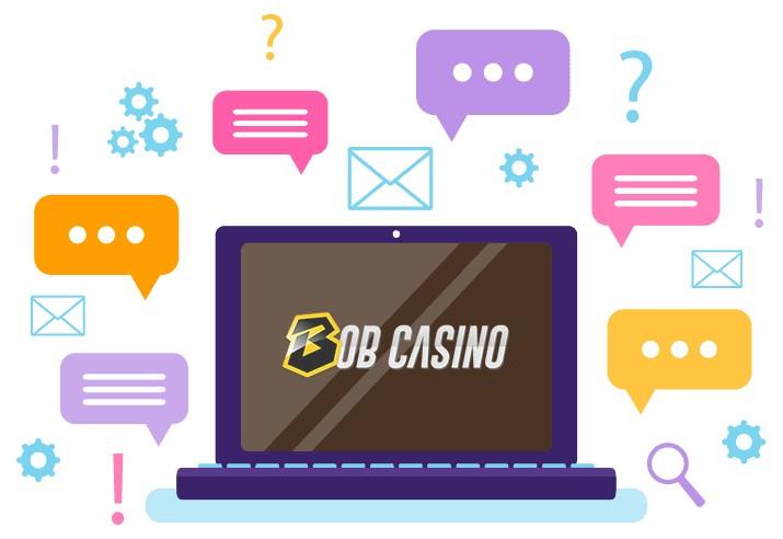 Bob Casino - Support
