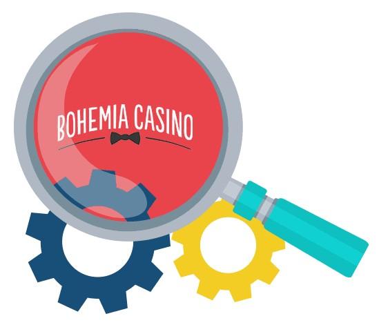 Bohemia Casino - Software