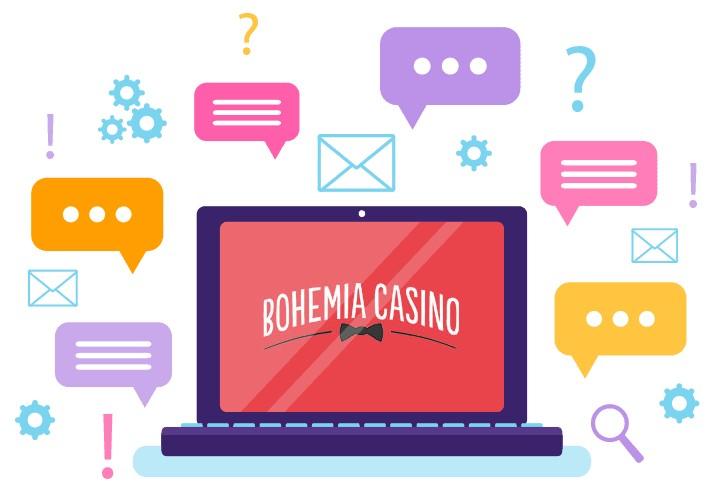 Bohemia Casino - Support