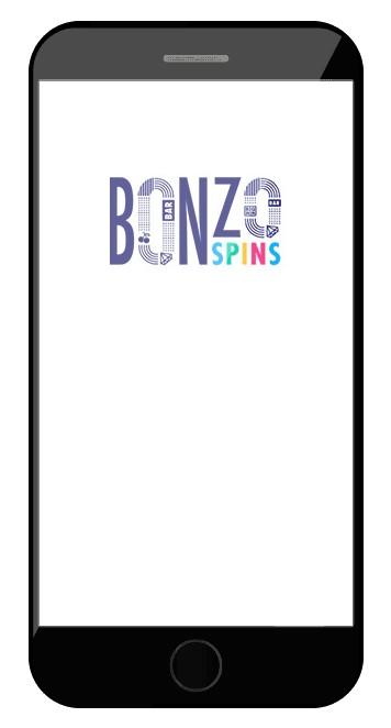 Bonzo Spins Casino - Mobile friendly