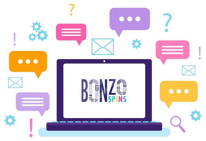 Bonzo Spins Casino - Support