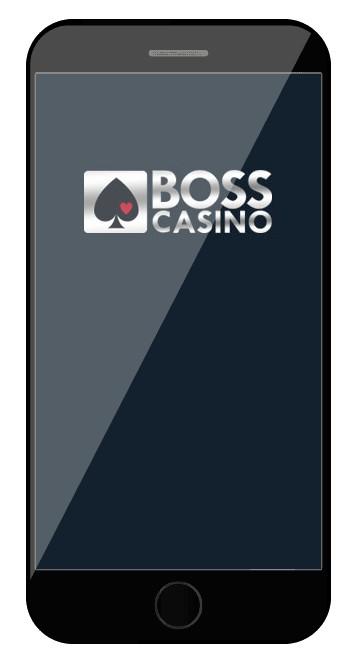 Boss Casino - Mobile friendly