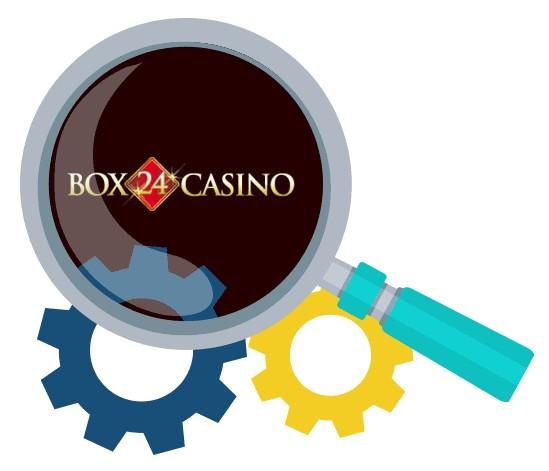 Box 24 Casino - Software