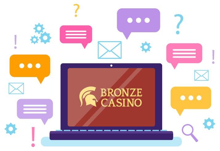 Bronze Casino - Support