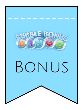 Latest bonus spins from Bubble Bonus Bingo Casino