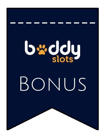 Latest bonus spins from Buddy Slots Casino