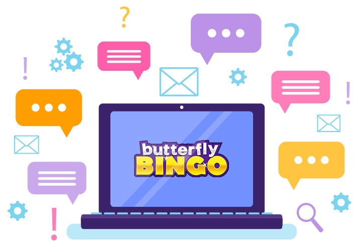 Butterfly Bingo Casino - Support