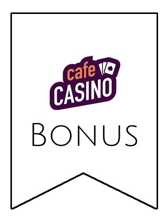 Latest bonus spins from Cafe Casino