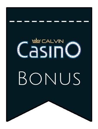 Latest bonus spins from Calvin Casino
