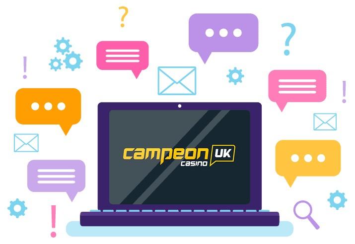 CampeonUK - Support