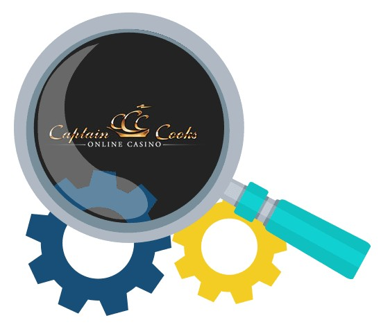 Captain Cooks Casino - Software
