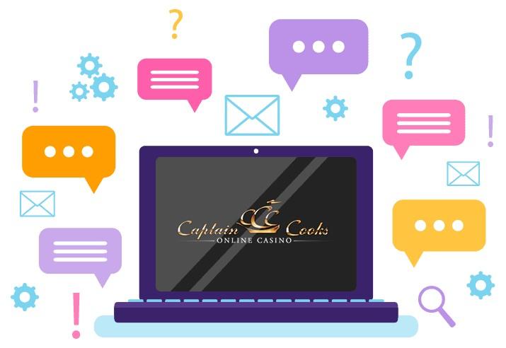 Captain Cooks Casino - Support
