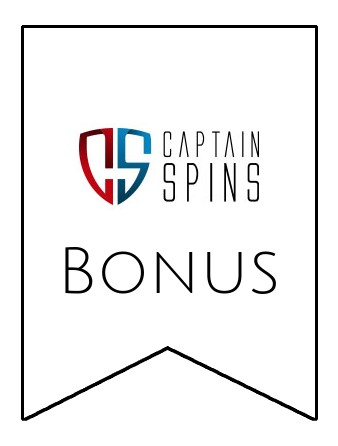 Latest bonus spins from Captain Spins