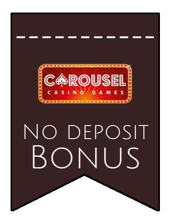 Carousel Casino - no deposit bonus CR