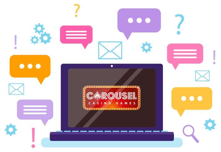 Carousel Casino - Support