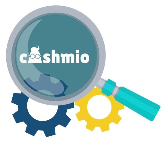 Cashmio Casino - Software