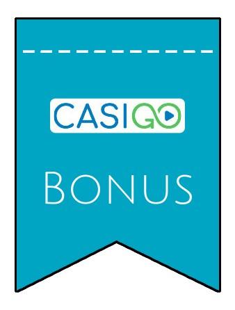 Latest bonus spins from CasiGO