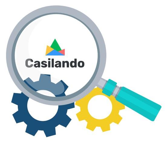 Casilando Casino - Software