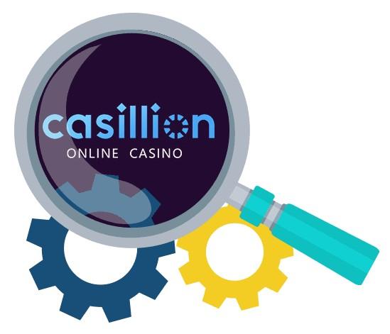 Casillion Casino - Software