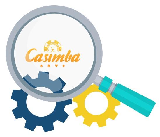 Casimba Casino - Software