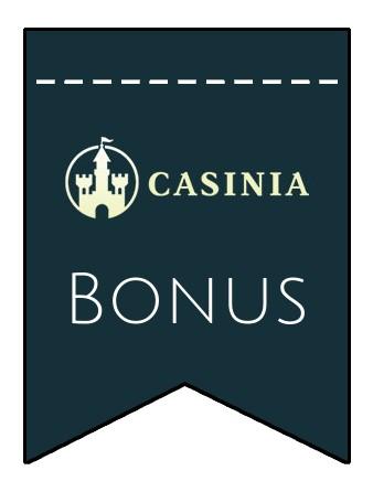 Latest bonus spins from Casinia Casino