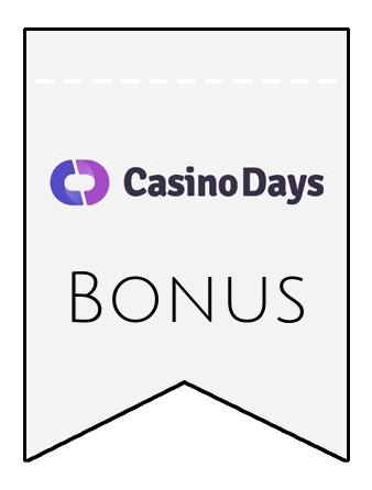 Latest bonus spins from Casino Days