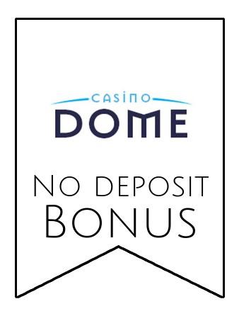 Casino Dome - no deposit bonus CR