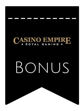 Latest bonus spins from Casino Empire