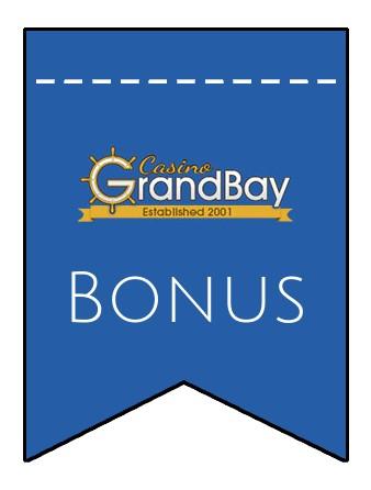Latest bonus spins from Casino GrandBay