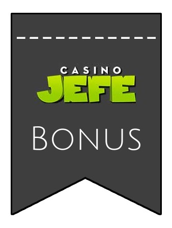 Latest bonus spins from Casino Jefe
