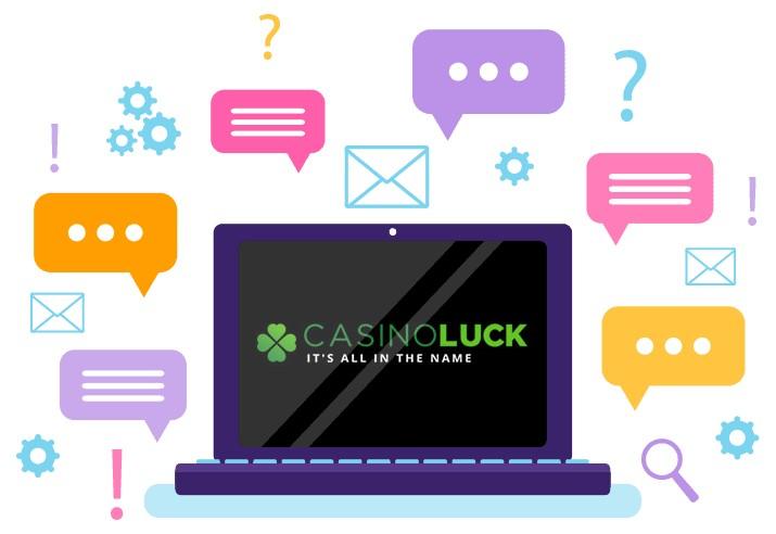 Casino Luck - Support