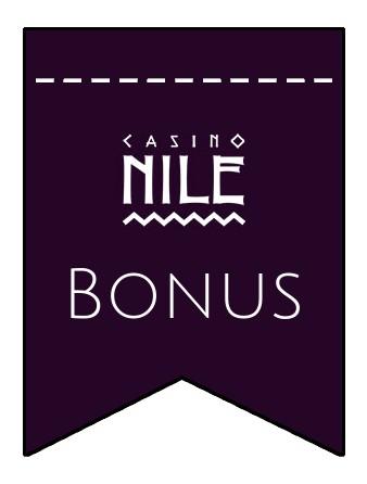 Latest bonus spins from Casino Nile
