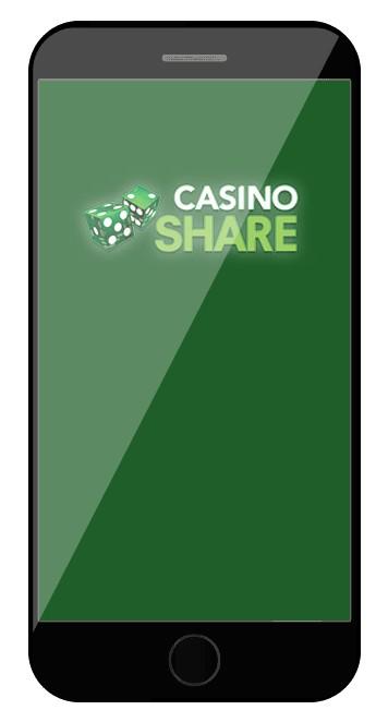 Casino Share - Mobile friendly