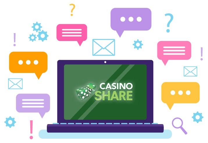 Casino Share - Support