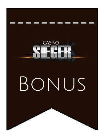 Latest bonus spins from Casino Sieger