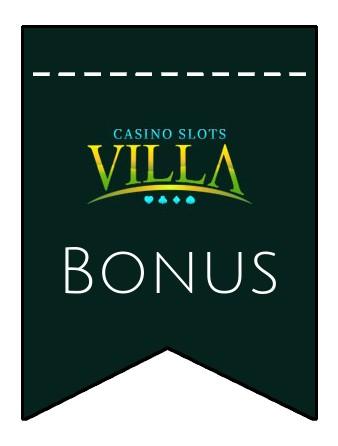 Latest bonus spins from Casino Slots Villa