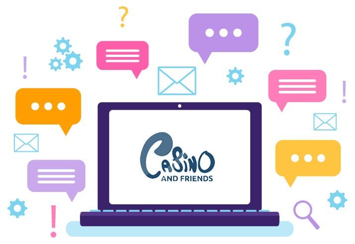 CasinoAndFriends - Support