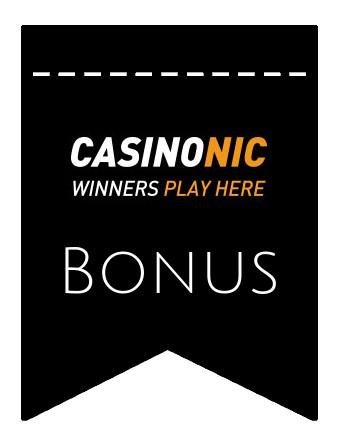 Latest bonus spins from Casinonic