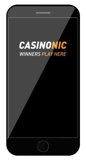 Casinonic - Mobile friendly