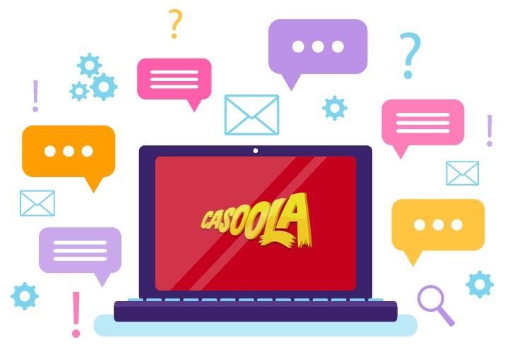Casoola - Support