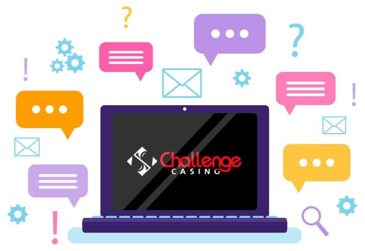 Challenge Casino - Support