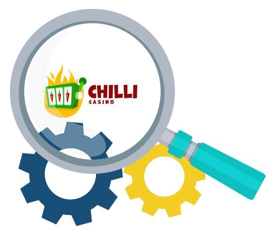 Chilli Casino - Software